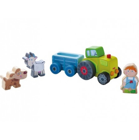 Univers de jeu - Le tracteur de Pierre - IkaIpaka Royan