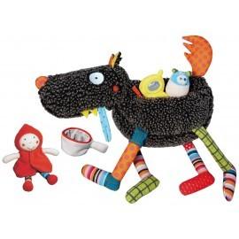 497e897dcd25a5 T es Fou Louloup d activités avec Zip + 4 jouets - Ika Ipaka - Online Store