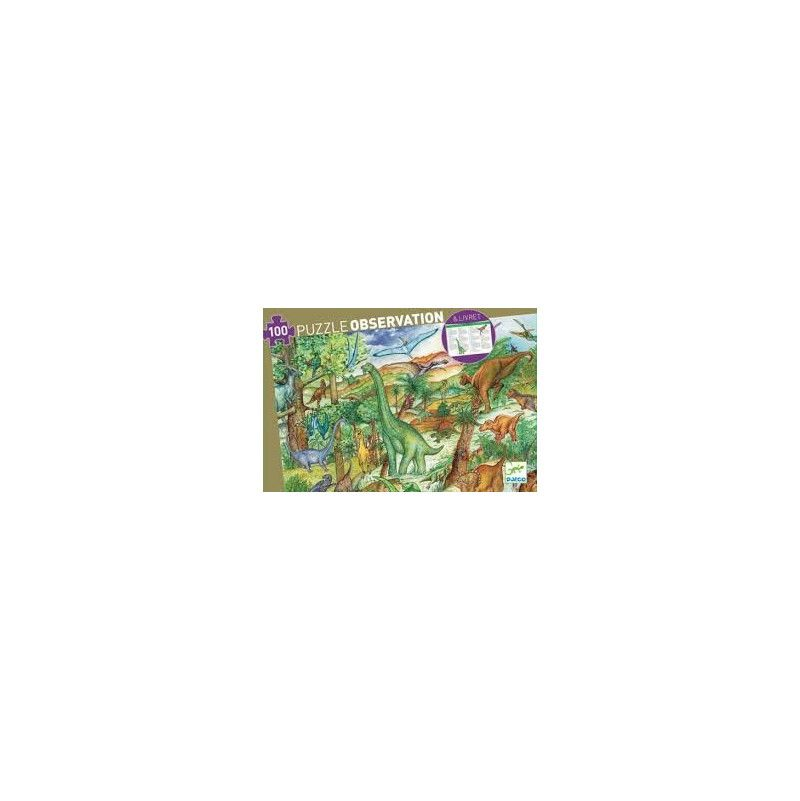 Puzzle observation dinosaures