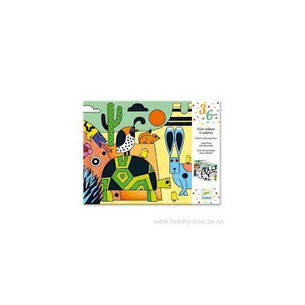 Frise à colorier des petits colorado - IkaIpaka Royan