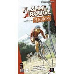 Flamme rouge extension peloton