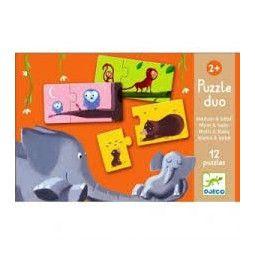 Puzzle duo maman et bébé - IkaIpaka Royan