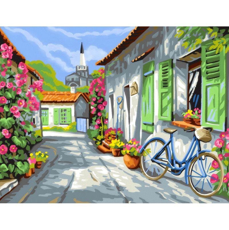 Peinture au n° - Ile de Ré