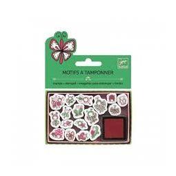 Mini stamps coccinelles et papillons