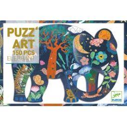 Puzz'Art Eléphant - 150 pcs