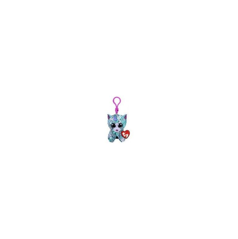 Flippables clip porte clef sequin paillette - IkaIpaka Royan