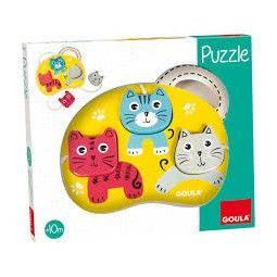 Mon premier puzzle les chats - IkaIpaka Royan