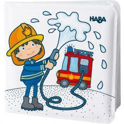 Livre de bain magique - Au Feu les Pompiers !