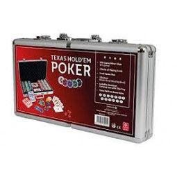 Poker malette Alu case 300 jetons - IkaIpaka Royan