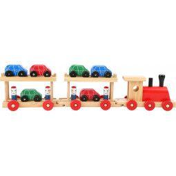 Train pour le transport des voitures - IkaIpaka Royan