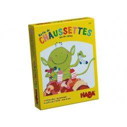 Raffle de chaussettes - jeu de carte