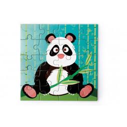 Puzzle 20p magnétique Panda Scratch - 2