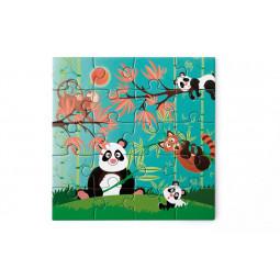 Puzzle 20p magnétique Panda Scratch - 4