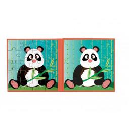 Puzzle 20p magnétique Panda Scratch - 5