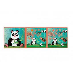 Puzzle 20p magnétique Panda Scratch - 6