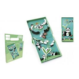 Circuit de billes + Puzzle magnétique Panda Scratch - 2
