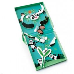 Circuit de billes + Puzzle magnétique Panda Scratch - 3