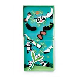 Circuit de billes + Puzzle magnétique Panda Scratch - 5