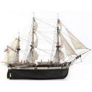 Maquette Bois Bâteau HMS TERROR avec voiles